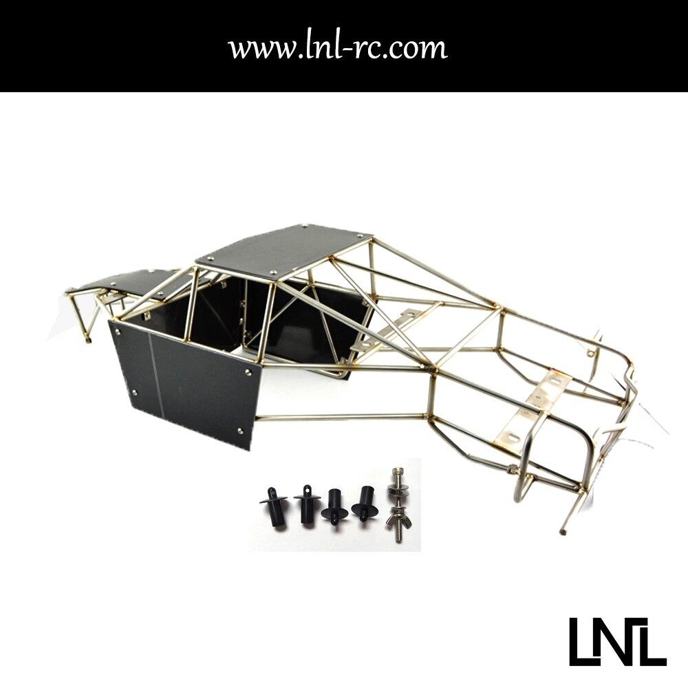 Rc oruga jaula de acero inoxidable para 90050 Axial 90068