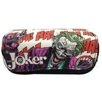 european and american movies pencil case joker double zipper pencil case school supplies stationery kawaii makeup bag