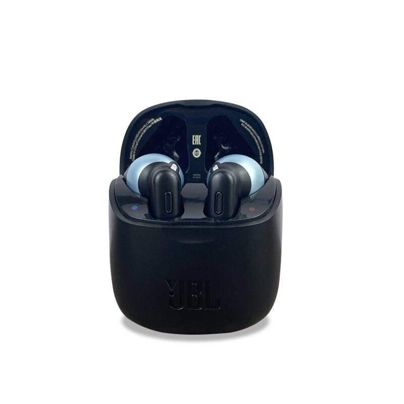 Jbl ture 225 tws verdadeiro tws fones de ouvido sem fio bluetooth baixo som fone com microfone caso carreg