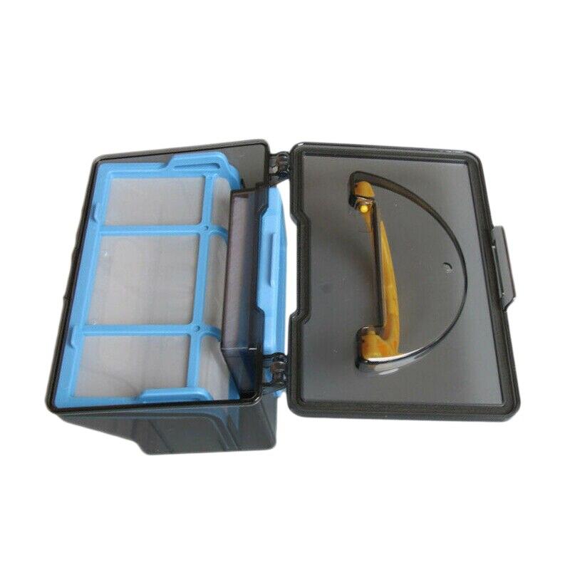 XMX-caja de polvo + filtro + Kits de red de primer efecto para Ilife V3S V3L V3S Pro V5 V5S V5S piezas de limpiador al vacío
