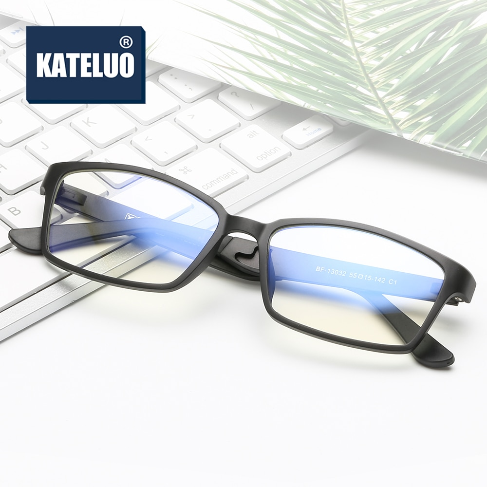 KATELUO 2020 Unisex Computer Goggles Mens Anti Blue light Laser radiation fatigue Glasses Optical Eyeglasses Frame for Women