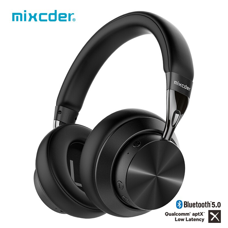 Mixcder E10 aptX Low Latency Bluetooth Headphones Active Noise Cancelling Wirless Headset HD With Mic for Mobile Phones PC TV