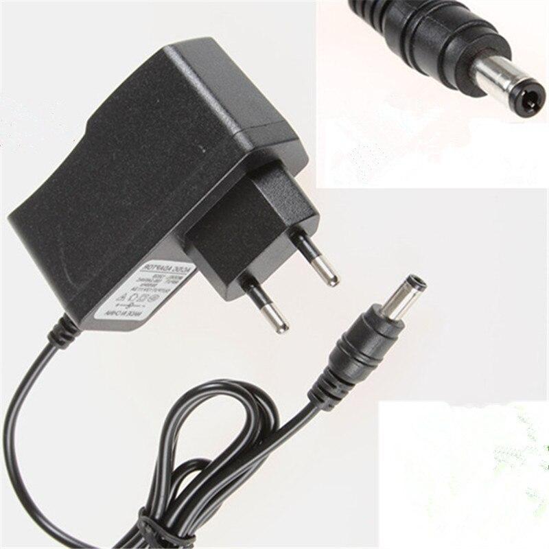 Fuente de alimentación de la UE 5V 2A CA 100 V-240 V enchufe Adaptador convertidor cargador 5,5mm x 2,1mm 1000mA para arduino Diy Kit