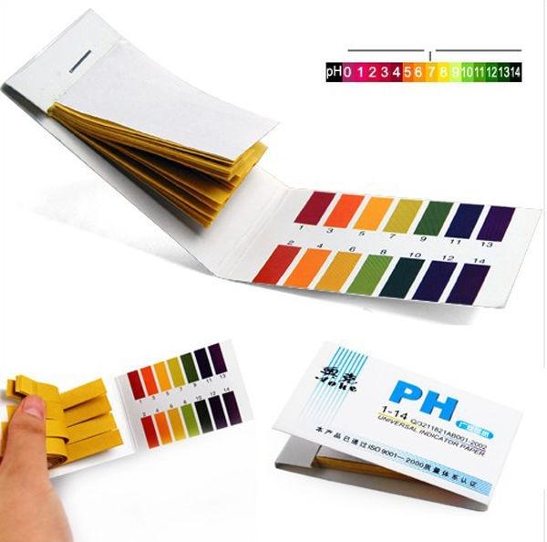 Portable Women Lady PH 1-14 Litmus Paper test Strips Indicator PH Tester Measurement Analysis Instruments