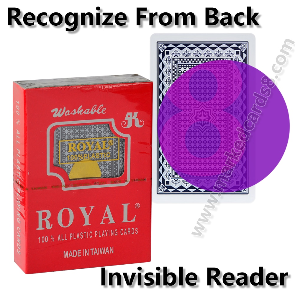Фото - Royal Marked Playing Cards for Contact Lenses Plastic Magic Mark Card Deck Board Game Anti Cheat Poker mark harlan winning at internet poker for dummies