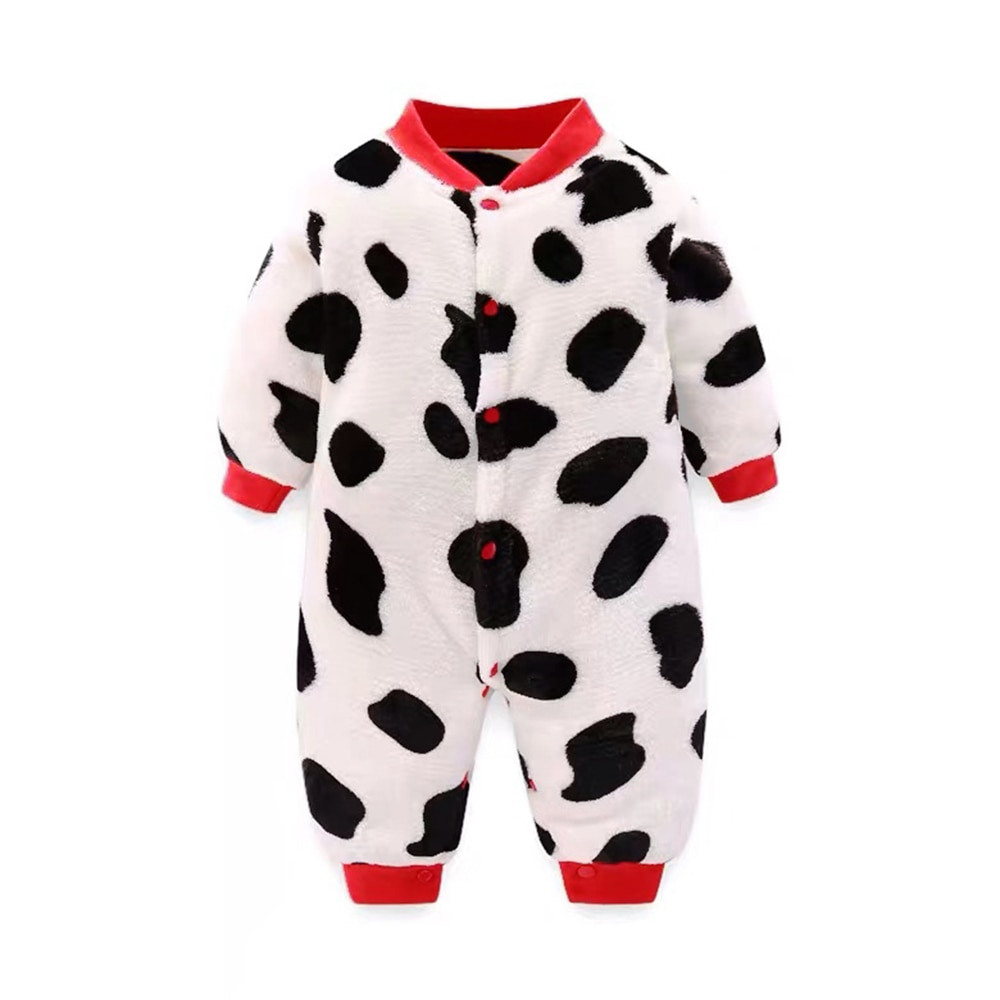 Baby Rompers Clothes Flannel New born Christmas Costumes  Children Overalls Winter Jumpsuits for Kid Boys Girl ropa bebe 3M-18M