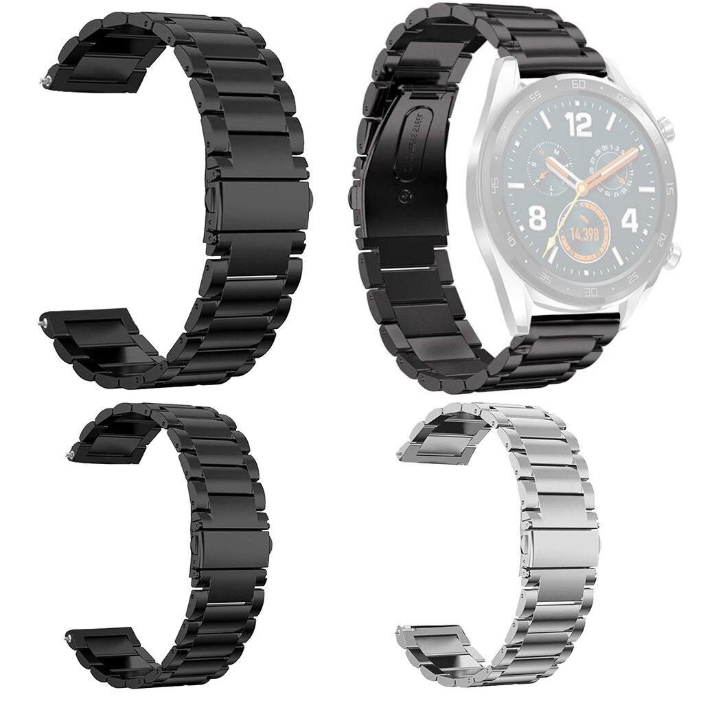 30 # aço inoxidável liberação rápida para huawei relógio gt substituição banda pulseira de pulso cinta ajustável smartwatch acessórios