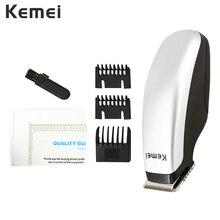 Kemei Electric Hair Clipper Portable Mini Trimmer Professional Cutting Machine Barber Beard Razor Men New Design Style Tools 40D