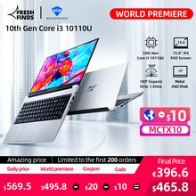 [World Premiere] Machcreator-A Laptop Metal Ultrabook intel core i3 10110U 8G 256G SSD 15.6'' FHD IP
