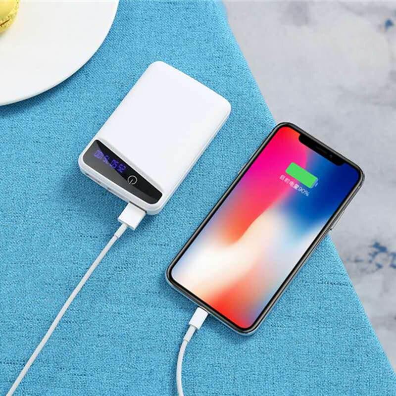 Чехол для аккумулятора DIY, коробка для зарядного устройства телефона, 3 шт., чехол для зарядки аккумулятора 18650 с 3 портами USB