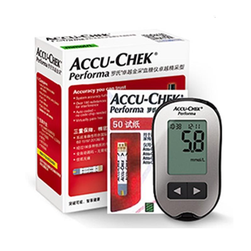 Roche-جهاز اختبار سكر الدم ، جهاز اختبار سكر الدم ، ممتاز ، أداة اختبار السكري ، ورقة الاختبار الطبية المنزلية ، ألمانيا