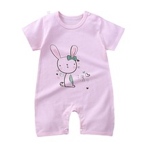 Yg Brand Children's Wear, Baby Jumpsuit, Cotton Summer Climbing Suit, Children's Short Sleeve Jumpsu
