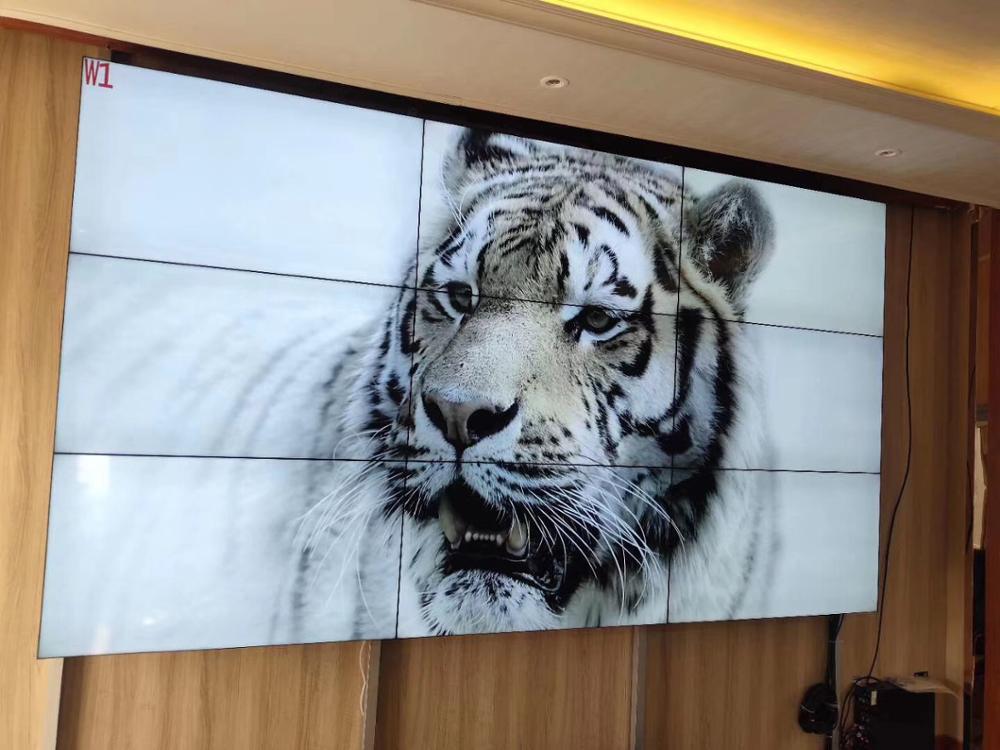 3*3 pcs 3.5 mm Bezel 46'' 55'' inch Mosaic monitors lcd video wall