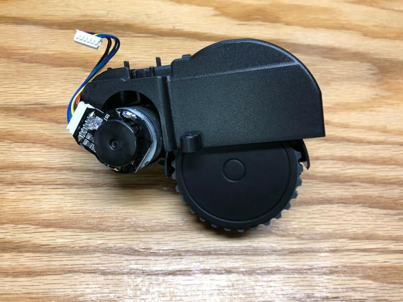 Robot aspiradora motor de rueda derecha izquierda para Ecovacs Deebot N79S N79 Robot aspiradora piezas montaje de rueda