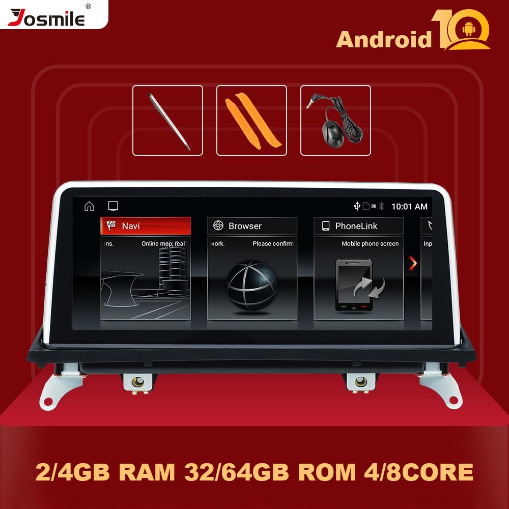 IPS 64GB أندرويد 10.0 راديو السيارة مشغل وسائط متعددة لسيارات BMW X5 E70 X6 E71 2007-2013 الأصلي CCC CIC الملاحة شاشة ستيريو