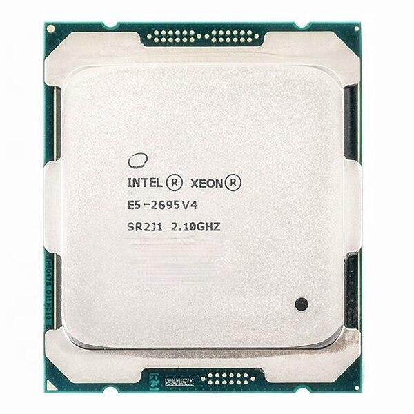 إنتل زيون E5 2695 V4 معالج وحدة المعالجة المركزية 18 النواة 2.1GHz 45MB L3 مخبأ 120W SR2J1 LGA 2011-3