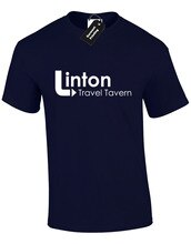 LINTON TRAVEL TAVERN MENS T SHIRT TOP FUNNY ALAN PARTRIDGE NORTH NORFOLK NORWICH
