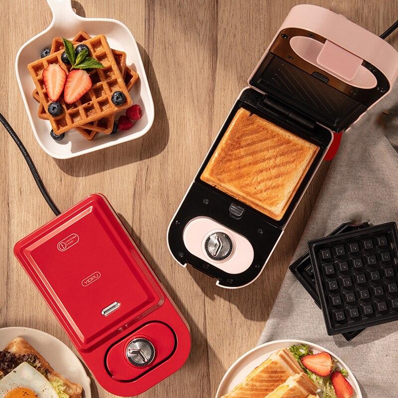 Электрическая вафельница takoyaki, многофункциональный аппарат для приготовления сэндвичей и блинов, 220 В, 600 Вт