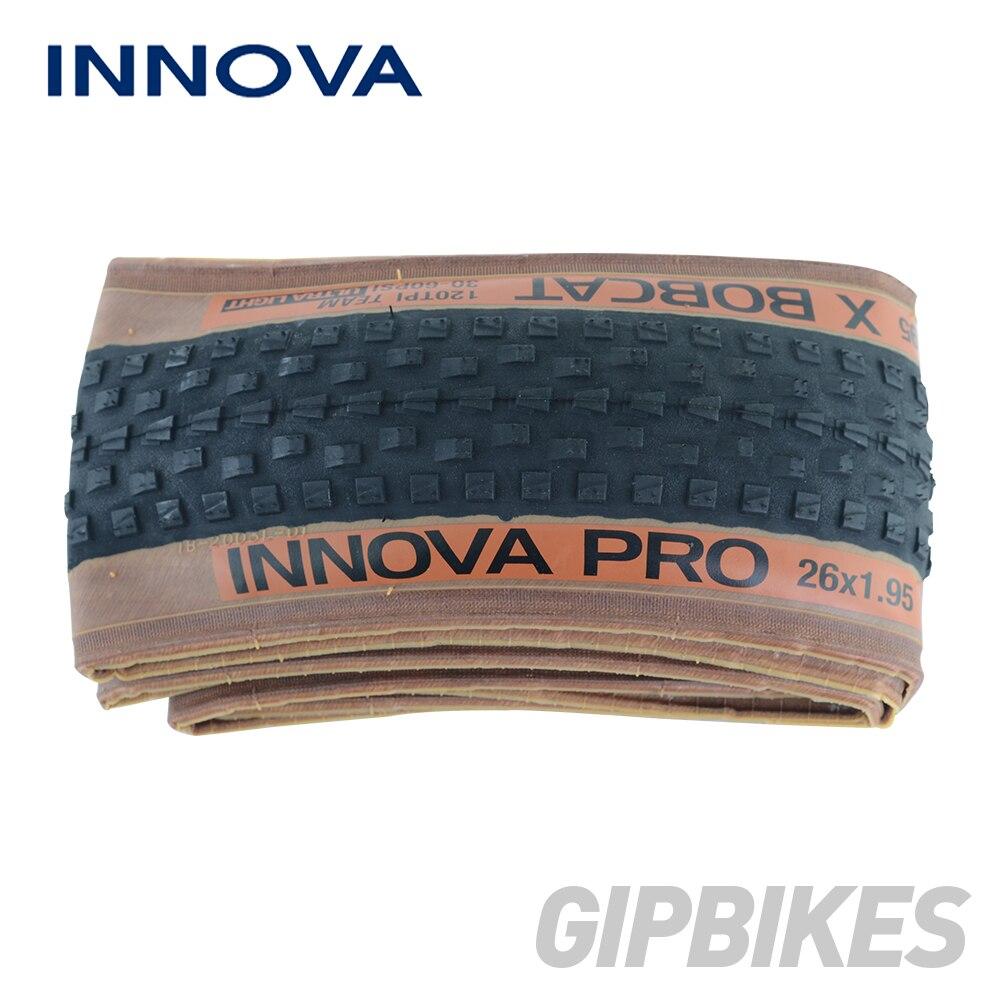 Llantas de bicicleta INNOVA 26x1,95 27,5x1,95 29x1,95 120TPI neumáticos de bicicleta de montaña MTB ultraligeros 308g neumáticos de ciclismo 26 30-60 PSI