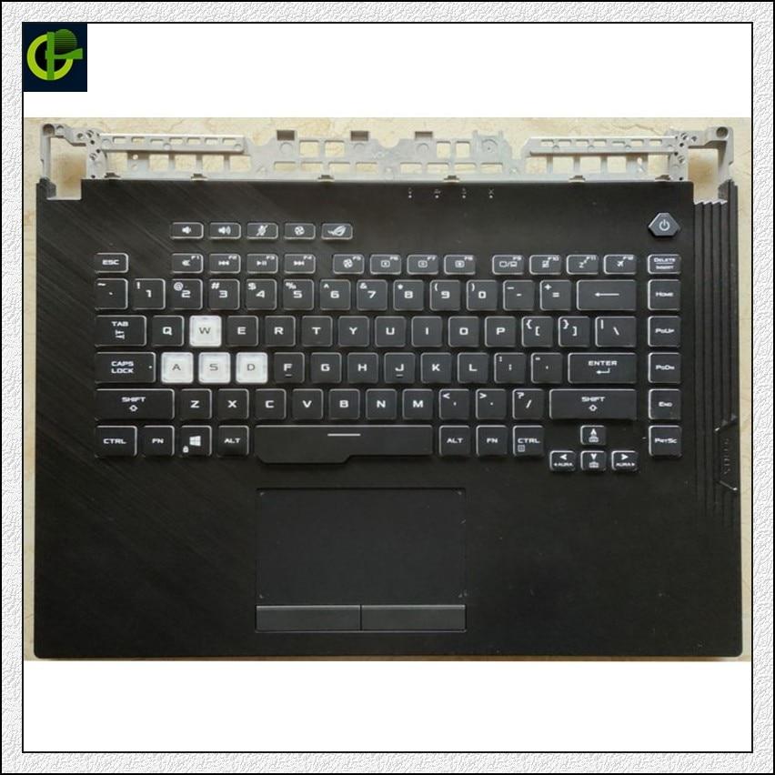 لوحة المفاتيح الإنجليزية ل ASUS ROG Strix Scar III G512 L 3 PLUS G531 S5D G531GT G531G GL531 G531GV G531GU الولايات المتحدة الغطاء العلوي الإسكان
