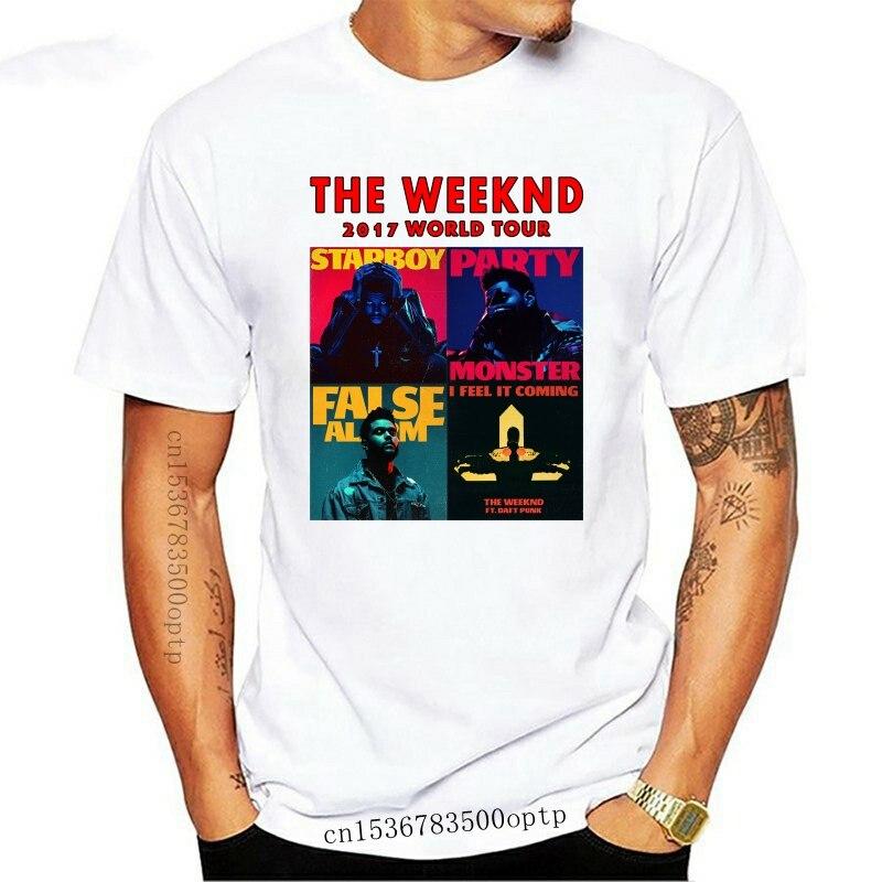 Camiseta de The Weeknd Starboy Para Hombre y Mujer, Camiseta de cuello...
