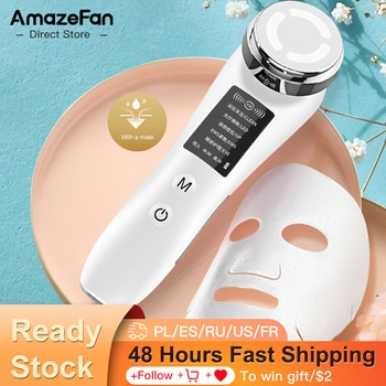 RF & EMS lifting Facial beauty device facial mesotherapy skin care facial deep cleansing machine Facial massager beauty health