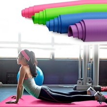 10mm Yoga Matte Übung Pad Dicke Rutschfeste Folding Gym Fitness Matte Pilates Outdoor Indoor Training Gym Übung Fitness teppich