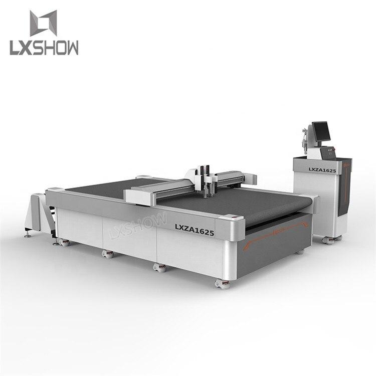 Oscilante cuchillo máquina de corte cnc leather cardboard de vibrando cuchillo de la máquina de corte