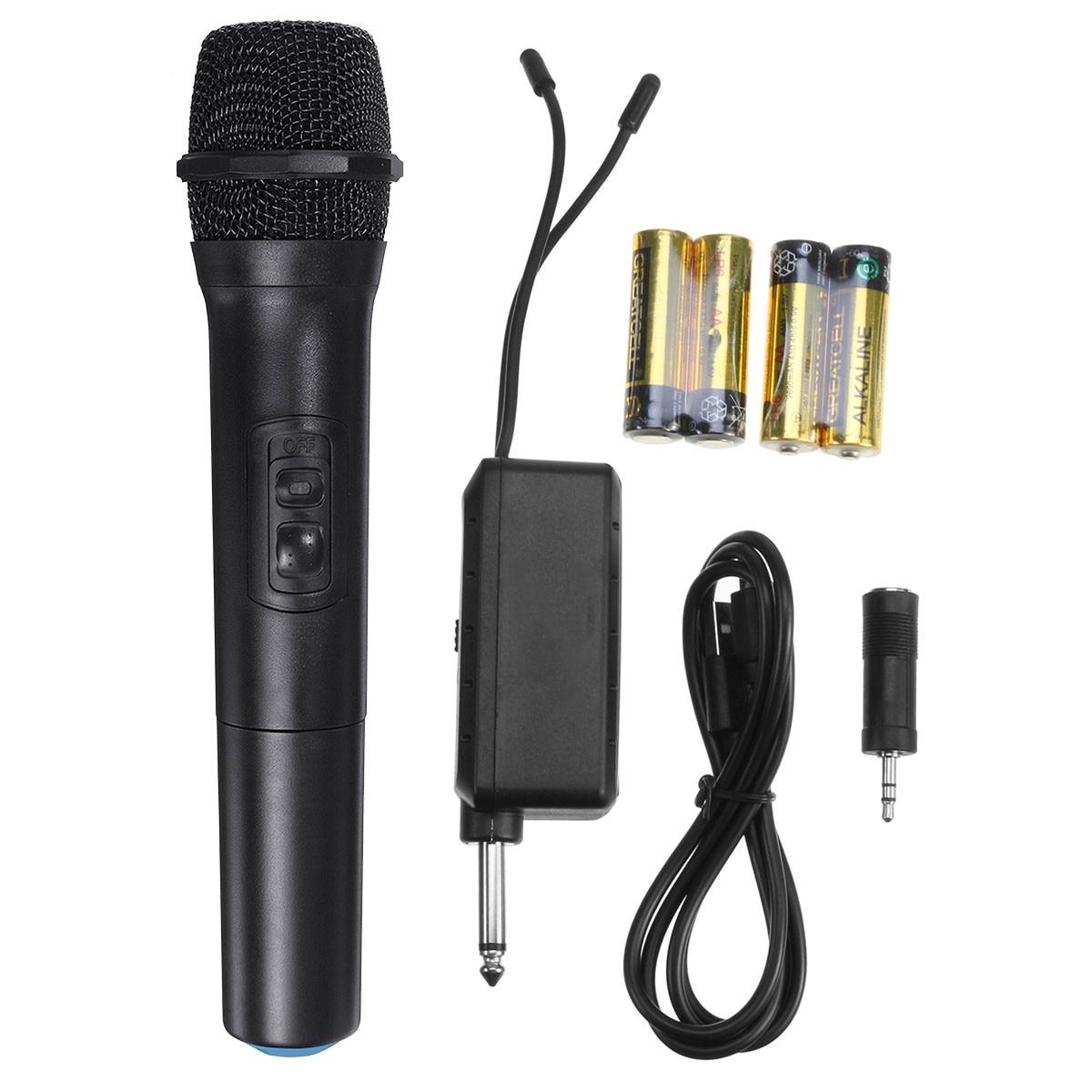 Micrófono UHF profesional, inalámbrico por bluetooth, micrófono dinámico, Karaoke, amplificador de altavoz de DJ, micrófono de mano, reproductor KTV