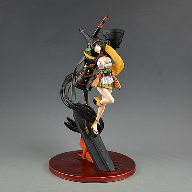 Estatua de juego de 30cm Onmyoji cuchillo demoníaco figura de acción de PVC para chica cuchillo demoníaco figura de chica de animé modelo juguetes figura de niña bella coleccionable