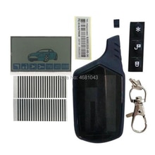 A61 lcd display + Zebra Paper + LCD keychain body Case For Russian Starline A61 lcd remote Control t