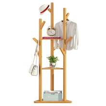 Mantel rack-home schlafzimmer tür vertikale rack kleidung rack massivholz kleiderbügel auf den boden fallen