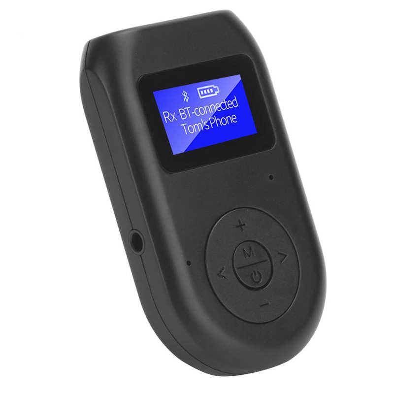 4 em 1 50 adaptador sem fio audio 35mm do receptor do transmissor para a teve pc