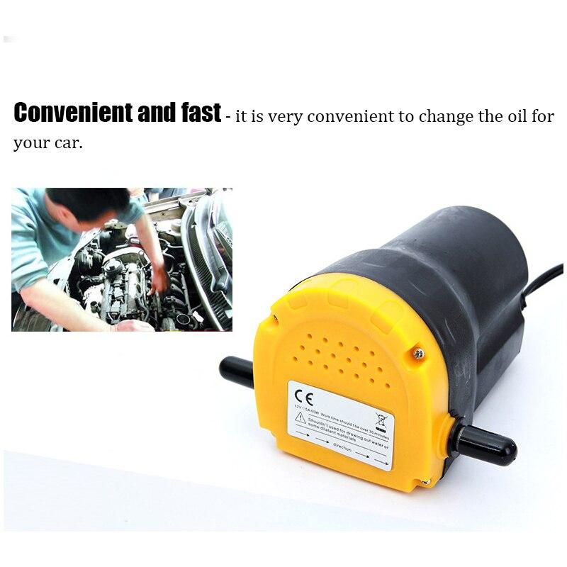 Eléctrica de 12V de aceite del compresor de aire/aceite crudo de líquido de sumidero Extractor de recoger, intercambiar transferencia bomba de succión de la bomba de transferencia de + tubos