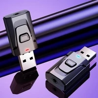 receptor y transmisor bluetooth 50 adaptador de audio inambrico de 35 mm dongle usb para tv kit de coche