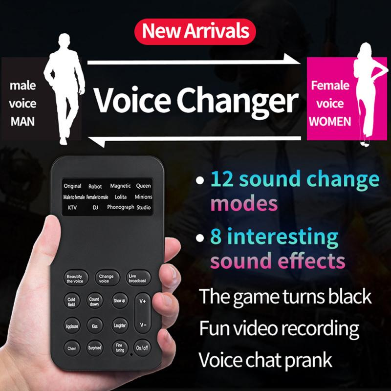 Voice Changer Computer Voice Changer 12 Different Sound Changes For Any Mobile Phone Computer Tablet IPad Game Machine Ect