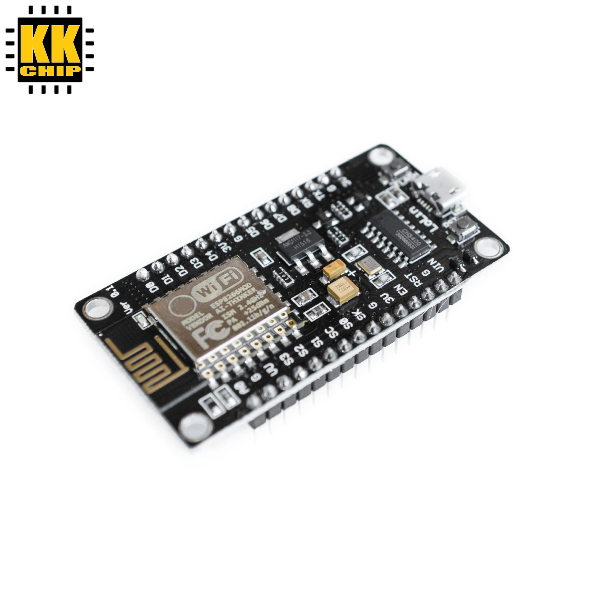 Wireless module NodeMcu v3 CH340 Lua WIFI Internet of Things development board ESP8266 with pcb Antenna and usb port for Arduino