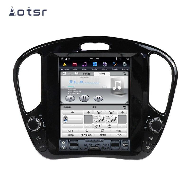 AOTSR Tesla 1 Din Android 8 Radio de Coche para Infiniti ESQ...