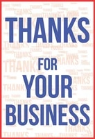 thanks for your business tin sign art wall decorationvintage aluminum retro metal sign