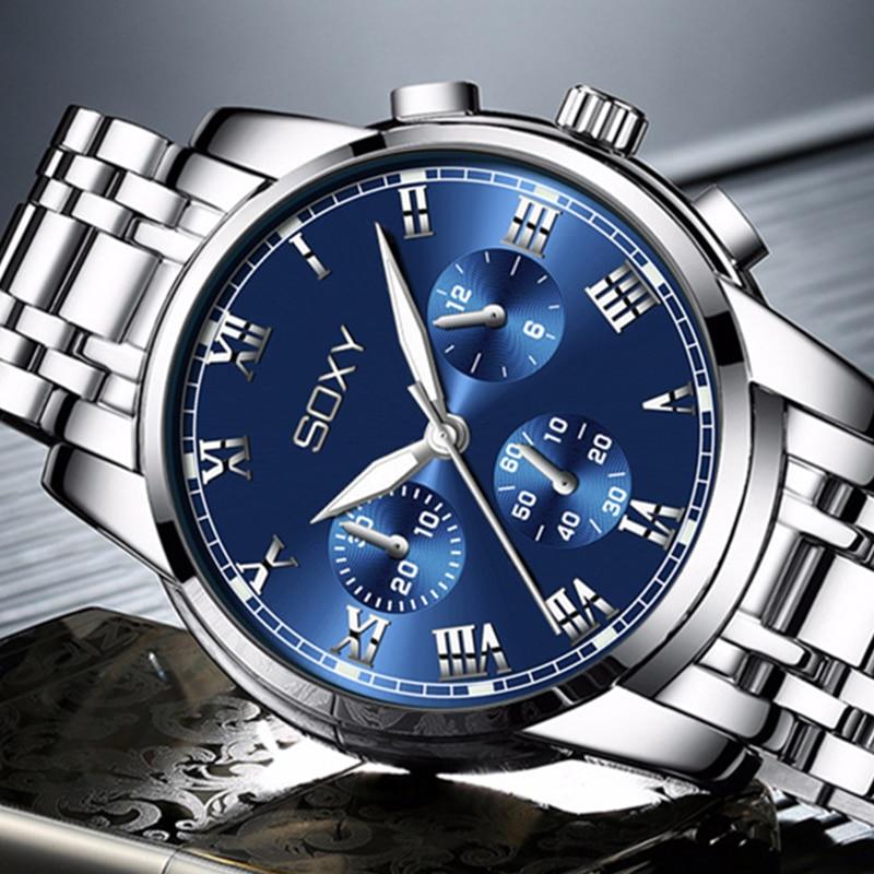 Masculino de Luxo Luminosos para Homens de Negócios Relógio Relógios Esportivos Homem 2021