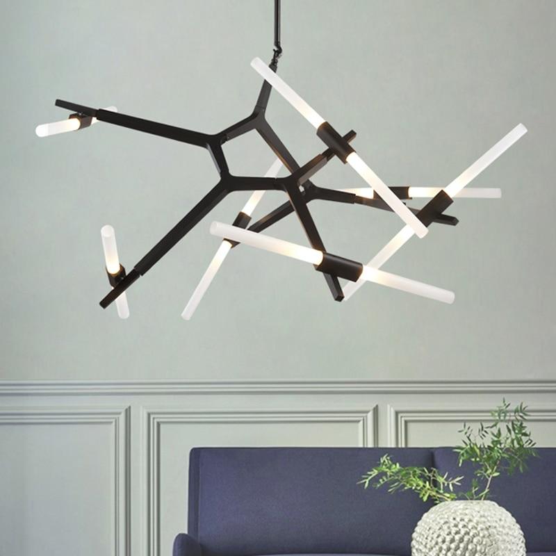 Modern LED Chandelier Chandeliers Ceiling Nordic Lighting For Living Room Bedroom Kitchen Lustre Glass Lamp Indoor Fixture Light