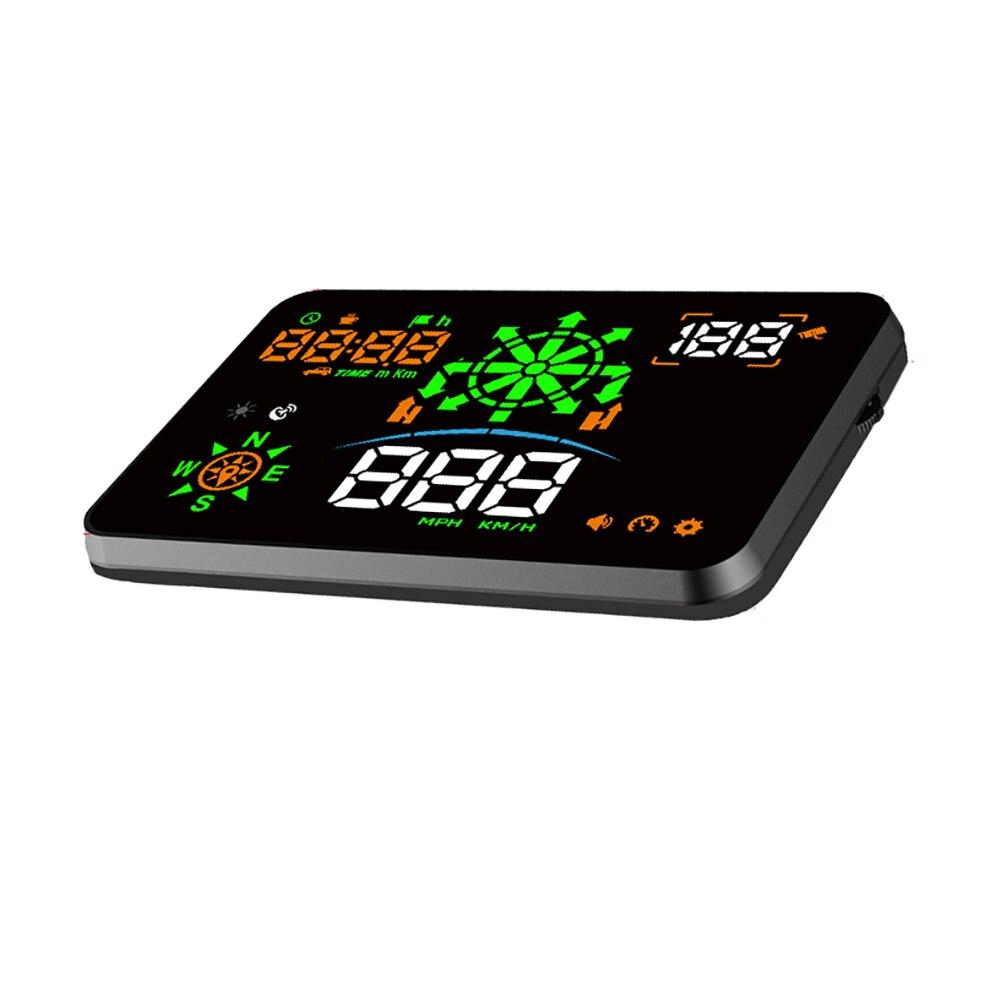 Dispositivos de medición de velocidad inteligente de proyección automática Digital para coche con pantalla Universal HUD y GPS