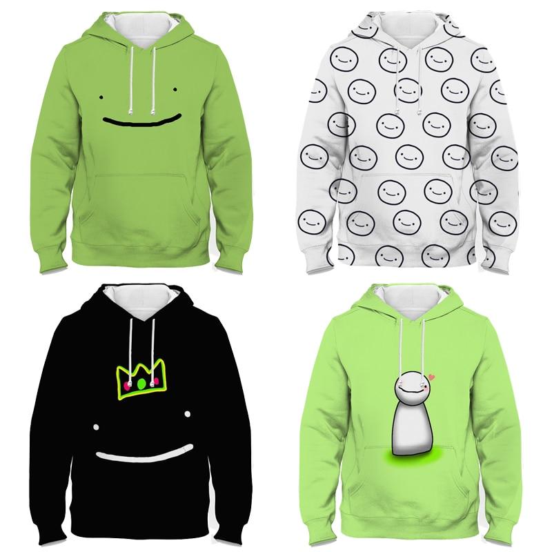 Spring Autumn Kids Dream Merch 3D Print Hoodies Children Cartoon Sweatshirts Sudadera Boys Girls Tod