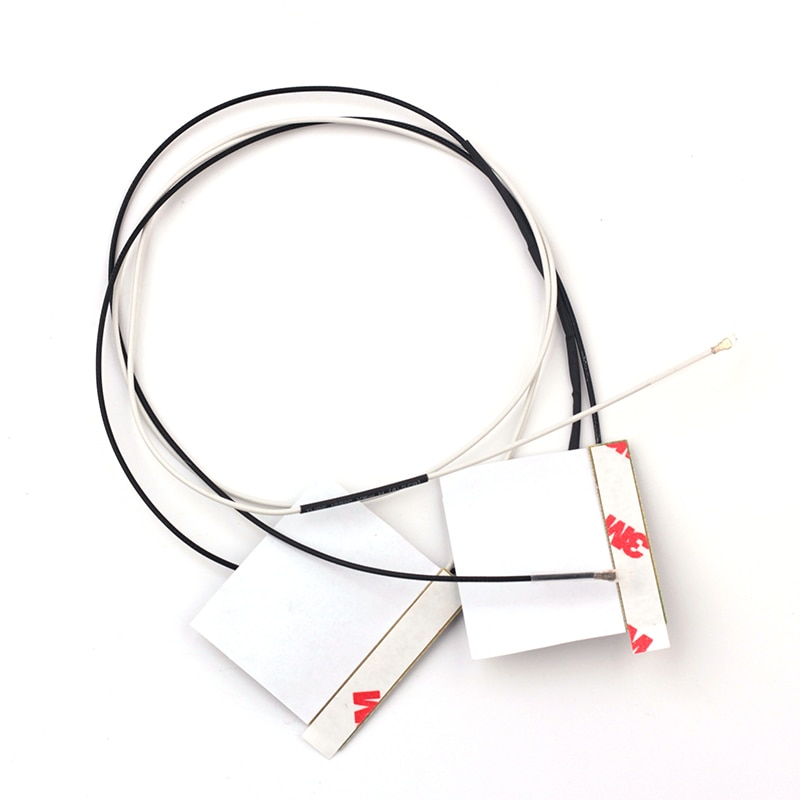 1 par 70cm IPEX4 Laptop WiFi antena interna para M.2 NGFF inalámbrico...