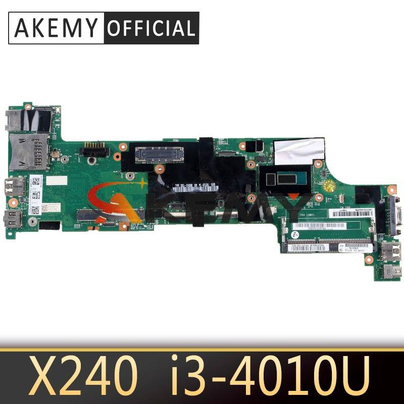 VIUX1 NM-A091 для Lenovo Thinkpad X240 ноутбук материнская плата Процессор i3 4010U 100% тесты работы FRU 00HM949 04X5156 00HM944