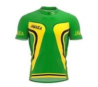 2021 jamaica more style summer cycling jersey team men bike road mountain race tops riding bicycle wear bike clothing quick dry