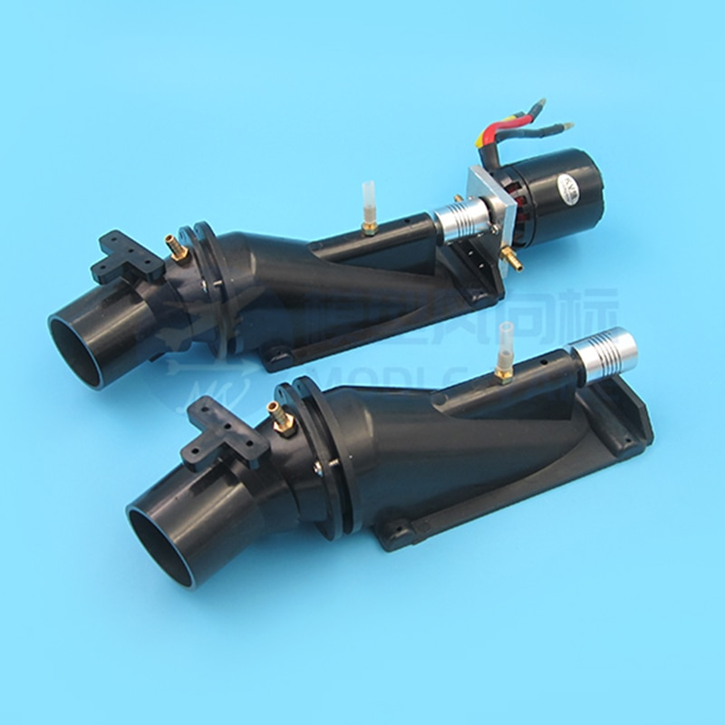 1Set 40mm Water Thruster Underwear Jet Pump Sprayer with 4260/ 3674 Brushless Motor+Water Cooling Jacket for RC Boats Modified enlarge
