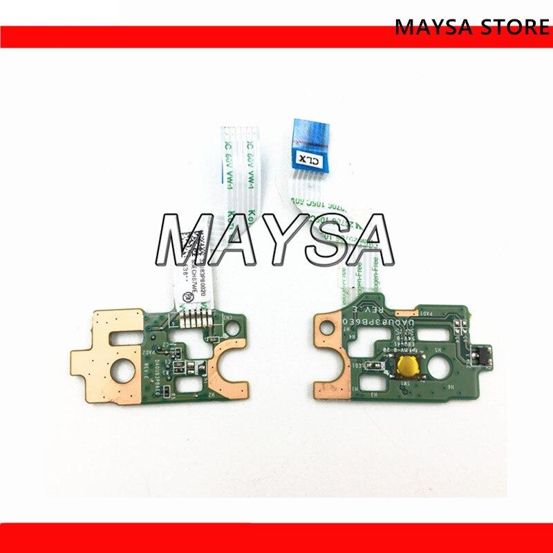 DA0U83PB6E0 para HP PAVILION serie 15-N placa del botón del interruptor de encendido CABLE 732076-001