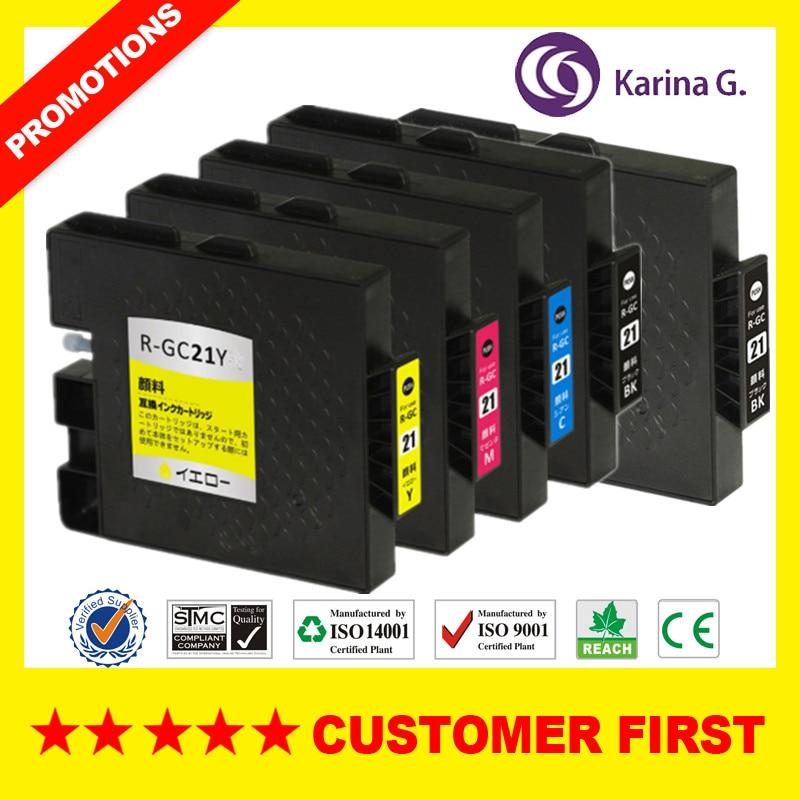 Cartucho de tinta compatível para ricoh gc21 gc 21 terno para ricoh GX-3000S 3000sf 3050sfn etc.