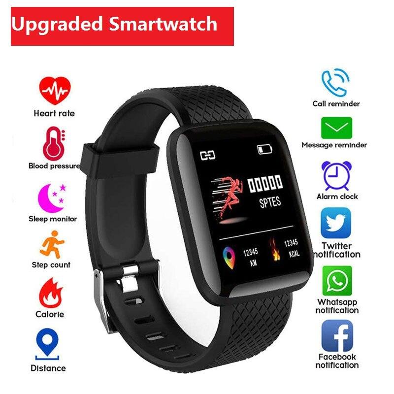D13 Smart Watches Men Women 116 Plus Heart Rate Watch Smart Wristband Sports Watche Smart Band Waterproof Smartwatch Android IOS